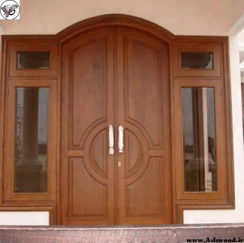 سازنده درب تمام چوب خاص و منحصر به فرد چوبی