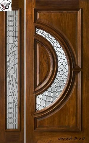 درب های چوبی کلاسیک , درب کلاسیک لاکچری , مدل و انواع درب چوبی سبک کلاسیک , قیمت و مشخصات فنی