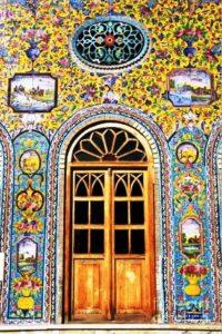 درب کاخ گلستان