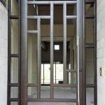 طراحی و ساخت درب های چوبی تلفیق چوب و فلز طراحی و ساخت درب های چوبی تلفیق چوب و فلز , فرفورژه مدرن و کلاسیک, فرفورژه مدرن و کلاسیک