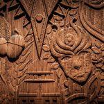 مدلینگ و ساخت درب با نقوش الهام گرفته از سریال بازی تاج و تخت که بسیار محبوب است