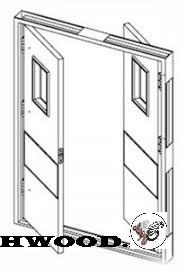 تعویض درب اتاقی با درب بادبزنی چگونه است.