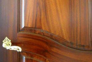 ساخت درب چوبی