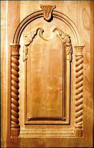 معرفی انواع درب و چهارچوب , دکوراسیون چوبی سازه های چوبی ، در چوب