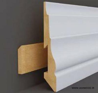 قرنیز چوبی متحرک با قابلیت اتصال و برداشته شده , قرنیز چوب و MDF