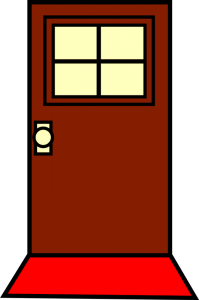 درب ورودی ساختمان , چوب و فرفورژه