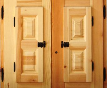 درب اتاقی , درب چوب راش