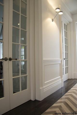ساخت درب چوبی دست ساز و سفارشی , ساخت درب شیشه خور