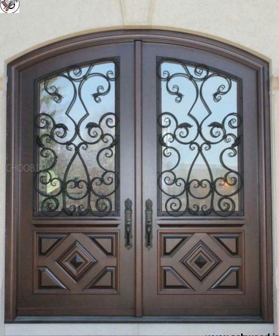 امن ترین درب چوبی حفاظتی