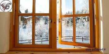 مدل پنجره لاکچری و زیبا , مدل پنجره چوبی جدید ومدرن