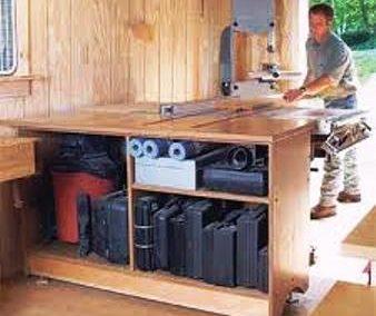 Smart Shop in a One-Car Garage
