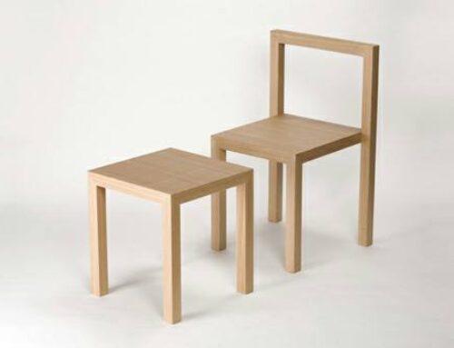 صندلی، میز و چهار پایه کاربردی و چند منظوره چوب بلوط