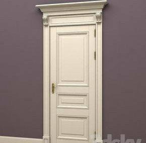 مدل و ایده درب چوبی سفید اتاق
