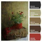 روانشناسی رنگ در معماری و دکوراسیون , پالت رنگ