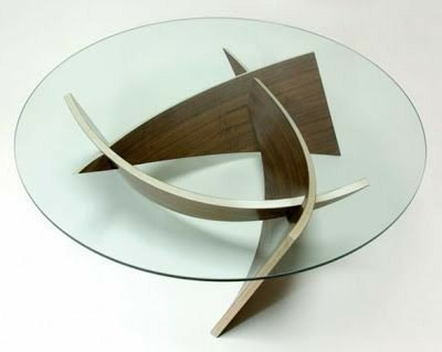 ایده های جالب دکوراسیون چوبی پذیرایی، میز جلو مبلی، پایه جوی، هنر خمکاری