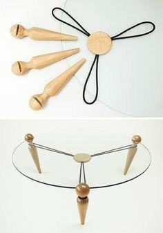 ایده های جالب چوبی