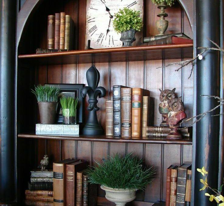 قفسه چوبی لوکس , کتابخانه بوفه و ویترین چوبی کلاسیک و منبت