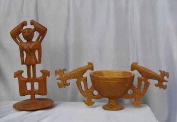 ظروف چوبی سنتی هنر لاک تراشیظروف چوبی سنتی هنر لاک تراشی
