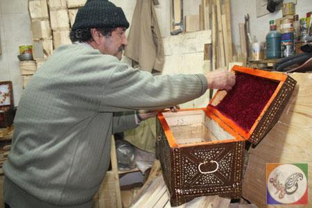 صندوقچه چوبی, هنرهای سنتی ایران