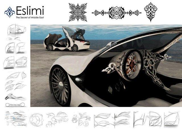 طراحی صنعتی با سبک های اسلیمی و ختایی