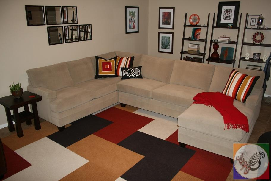 exciting-living-room-design-with-beige-sofa-and-flor-carpet-tiles-plus-ladder-shelf-cheap-carpet-tiles-home-depot-carpet-carpet-tiles-cheap-carpet-tiles-flor-flor-flor-carpet-tiles-lowes