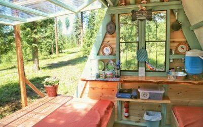 کلبه چوبی رویایی
