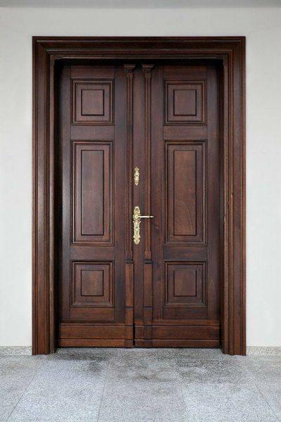 مدل درب کلاسیک , درب کلاسیک چوبی , جدیدترین مدل درب چوبی اتاق