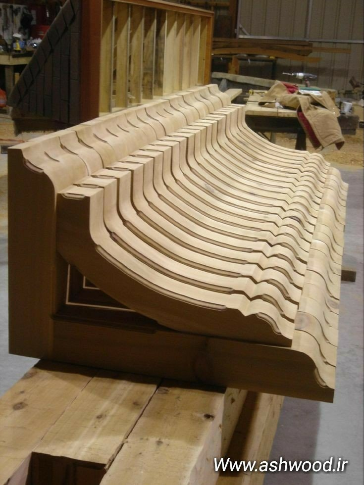 سقف خانه چوبی، سقف پرگولا و آلاچیق چوبی، براکت