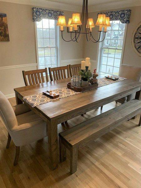 انواع میز ناهار خوری چوبی، انواع میز ناهار خوری 4نفره، میز ناهار خوری 6 نفزه