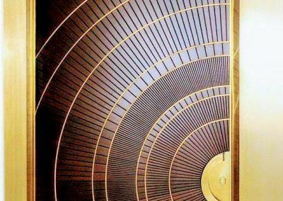 ساخت درب تمام چوب سبک مدرن