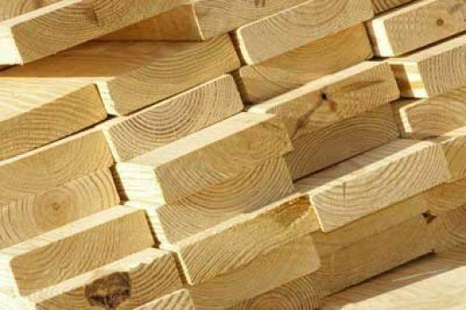 انواع چوب چهار تراش , چوب کاج روسی در ابعاد و کیفیت های مختلف