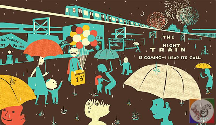 معرفی کتاب : ایستاده زیر باران ، فرانک ویوا