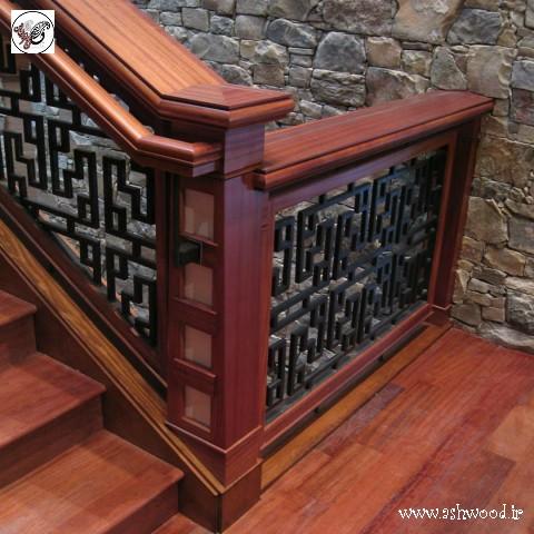 ایده و مدل پلکان چوبی استاندارد و دیدنی