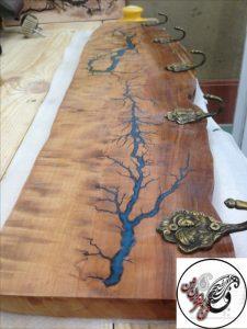 کارگاه سازه های چوب و رزین اپوکسی