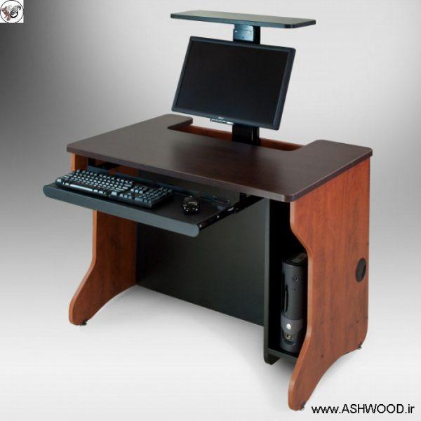 میز کامپیوترهای مدرسه و کلاس درس
