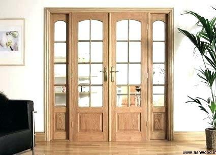 درب چوبی مدل فرانسوی
