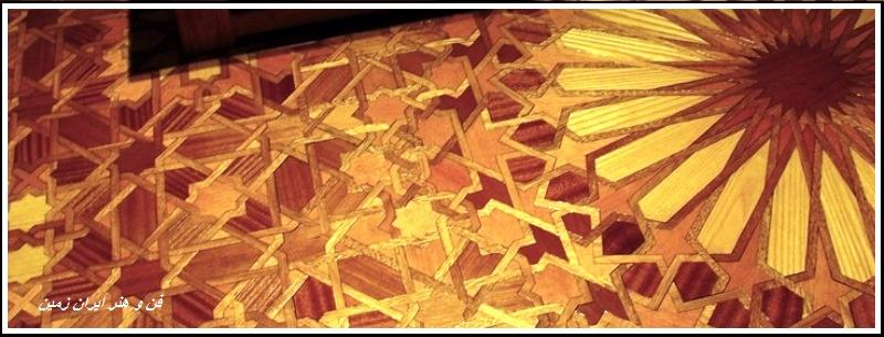 آموزش گره چینی چوبی درودگری سنتی