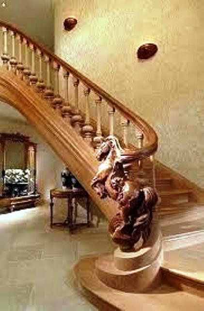 نرده و پله های دکوری زیبا