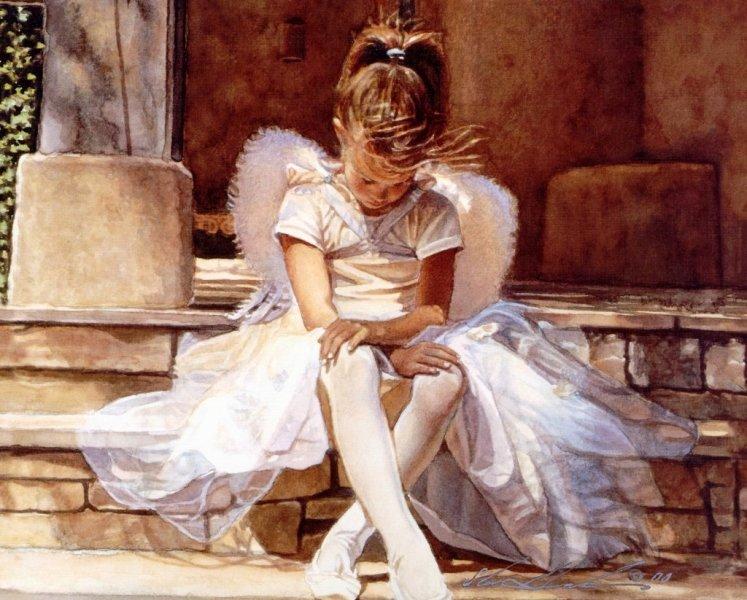 استیو هنکس  ، نقاش آمریکایی , نقاش ابرنگ