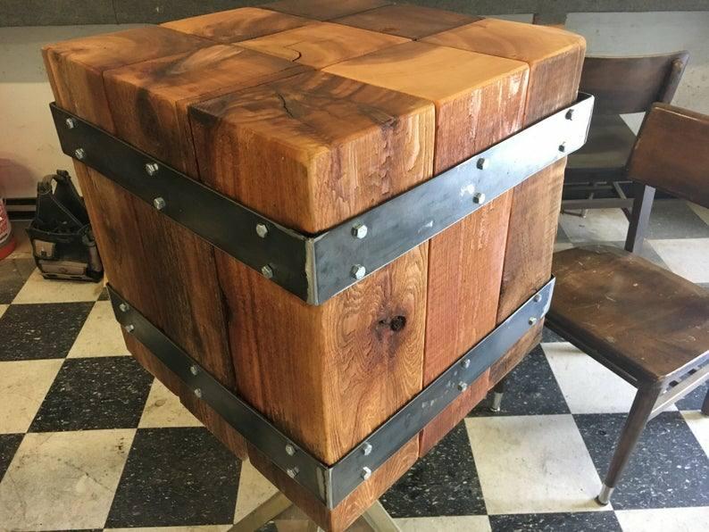 طراحی و ساخت میز صندلی چوبی صنعتی صندلی چوبی سبک معاصر