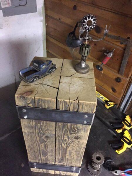 صندلی چوبی صنعتی, طراحی و ساخت میز صندلی چوبی صنعتی