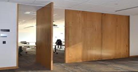 پارتیشن چوبی استفاده شده در محیط های اداری