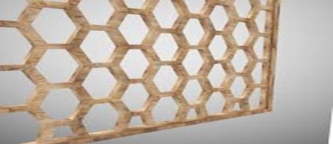 نمونه ای از یک پارتیشن چوبی ثابت در شکل زیر ارائه شده است که سبب ایجاد فضای زیبا و تفکیک فضا شده است.