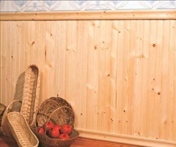 دیوارکوب چوب کاج , لمبه چوب کاج