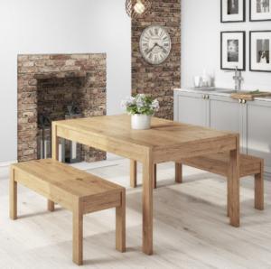 میز و صندلی چوب کاج , نیمکت چوب روسی
