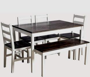 استفاده از چوب کاج در ساخت میز و صندلی های چوبی، میز و صندلی های ساخته شده از چوب کاج