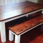میز ناهارخوری چوب کاج