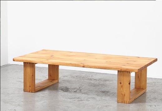 میز قهوه چوب کاج , دکوراسیون تمام چوب کاج