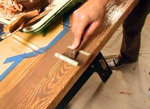 چه نوع رنگی برای دکوراسیون چوبی مناسب است؟