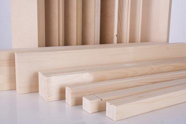 چوب نرم-  الوارهای چوب نرم